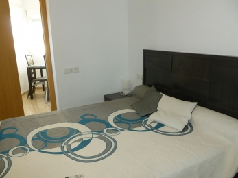 Double bedroom with access to ironing room